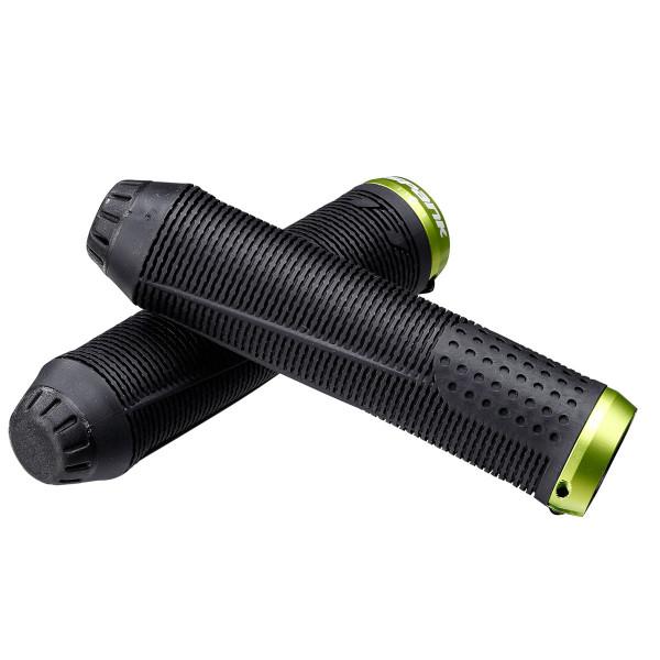 Spike 33 Lock On Handles - Black / Green