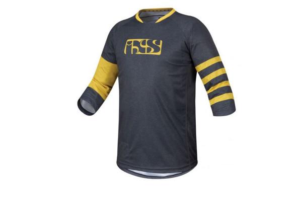Vibe 6.2 BC 3/4 Jersey - graphite/yellow
