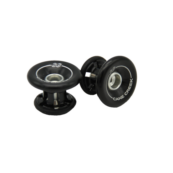 "Handlebar End Caps ""eeBarKeep"" - Black"