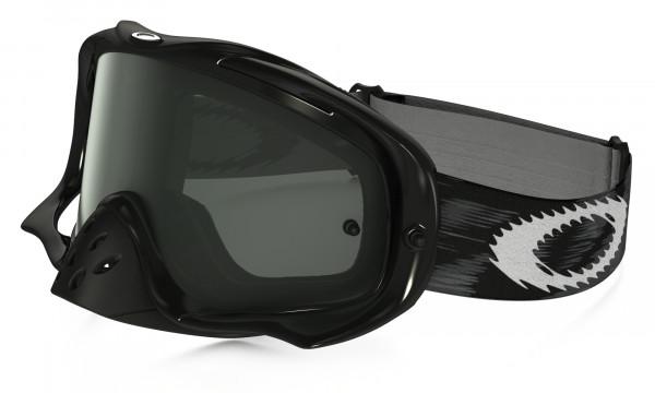 5636d5a74a Oakley Crowbar MX Goggle - Jet Black - Dark Gray online kaufen