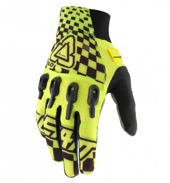 DBX 3.0 X-Flow Handschuhe - yellow/black