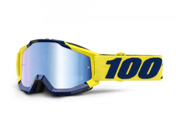 Accuri Goggle Anti Fog Mirror Blue Lens - Supply