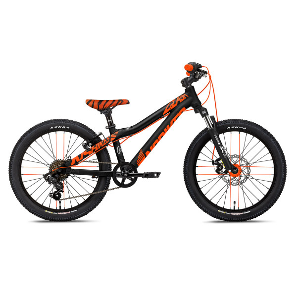 Clash Kids 20 Inch Funbike - Black / Orange