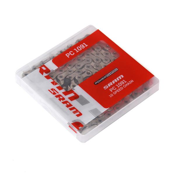 Kette 10fach - Sram PC 1091 Hollow Pin Powerchain Kette