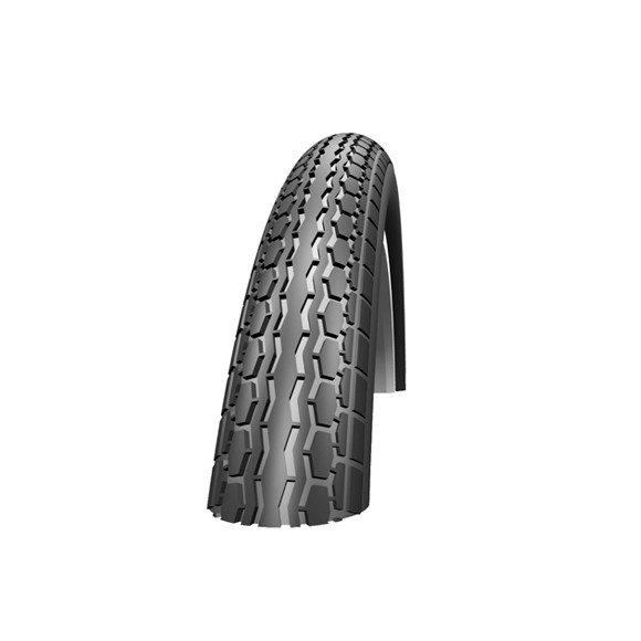 HS140 Clincher Tire - 14x1 3/8 Inch - White Line