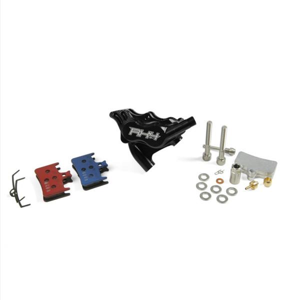 RX4 Brake Caliper Flatmount Complete rear - Shimano - Black
