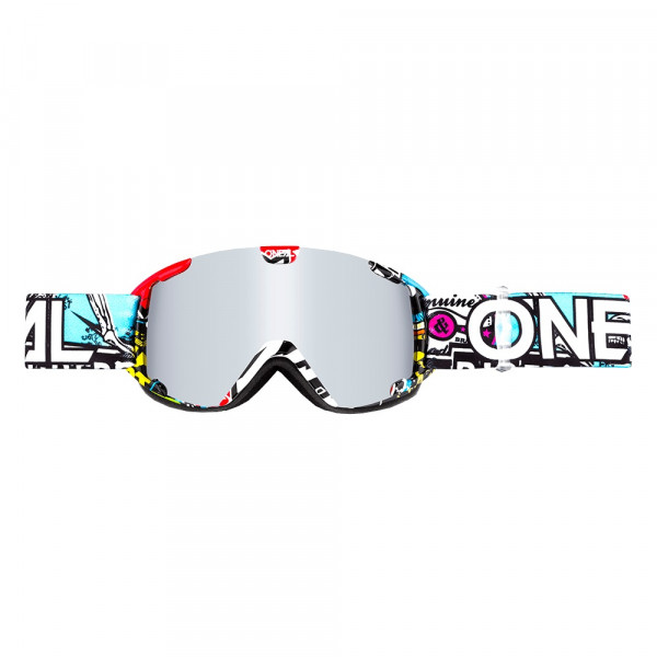 B30 Crank Goggle - Youth - multi - Lens mirror silver