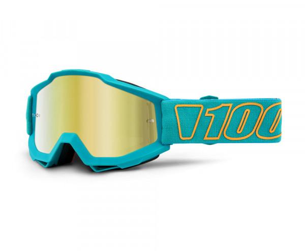 Accuri Goggle Anti Fog Mirror Blue Lens - Galak