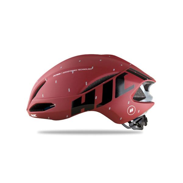 Furion Road Helmet - Matt pattern Red
