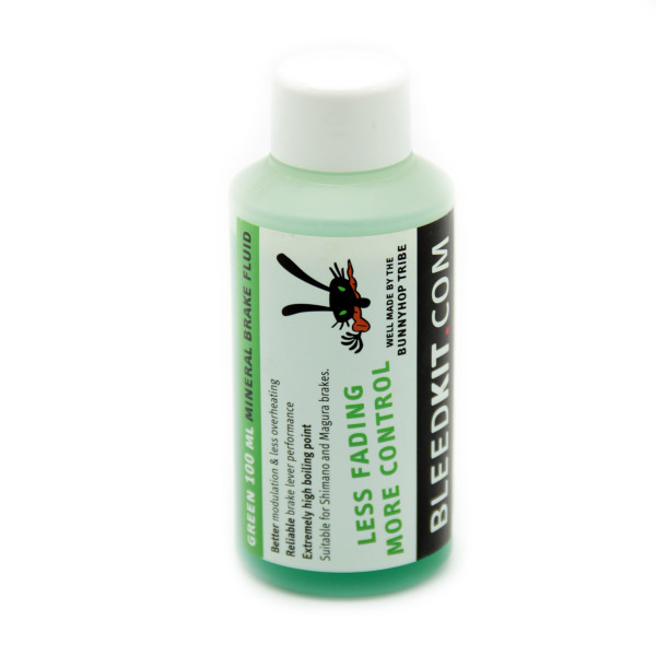 Mineral Oil - Green - for Shimano and Magura brakes
