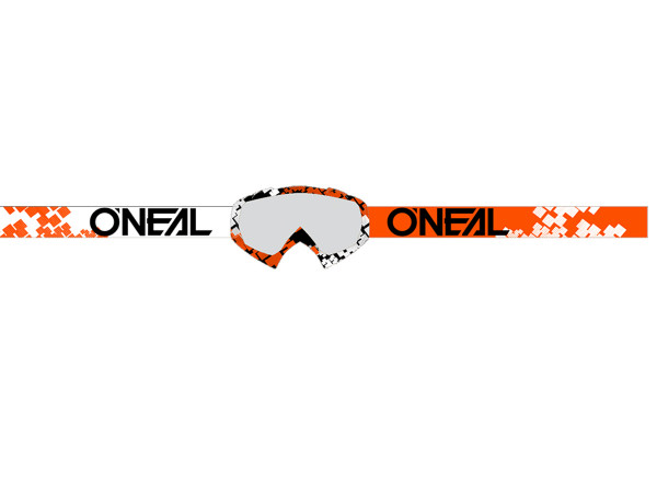B10 Pixel Goggle - orange/white - Lens clear