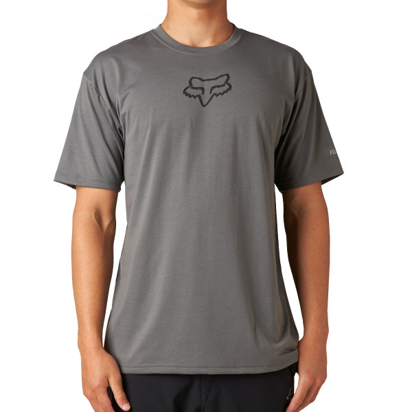 Tournament SS Tech Tee Heather Graphite