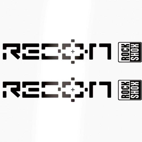 Rock Shox Recon Decals