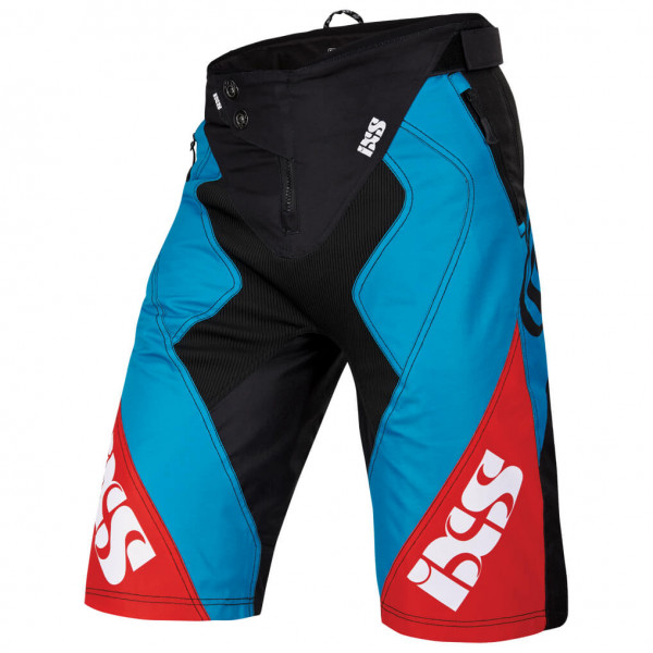 Vertic 6.1 DH Shorts - petrol/red/black