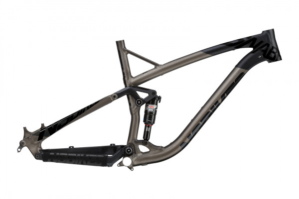 NS Bikes Snabb T frame with Monarch RT3 Debonair - black/dark raw
