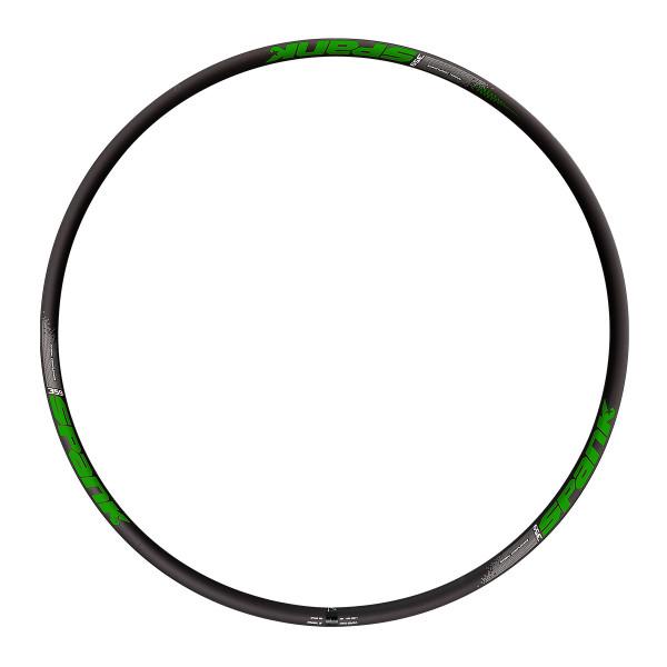 359 Vibrocore Rim - 32 Hole - 29 Inch - Black / Green