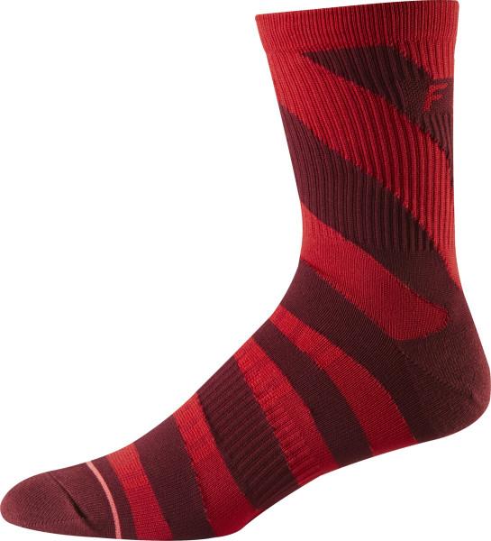"6"" Trail Socks - Cardinal Rot"