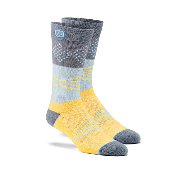 Antagonist Socks - Gray / Yellow