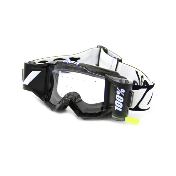 Accuri Forecast Youth Goggle w. Film System, Clear lens - Black