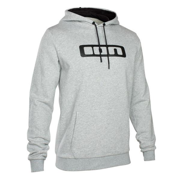 Hoodie Logo - Gray Melange