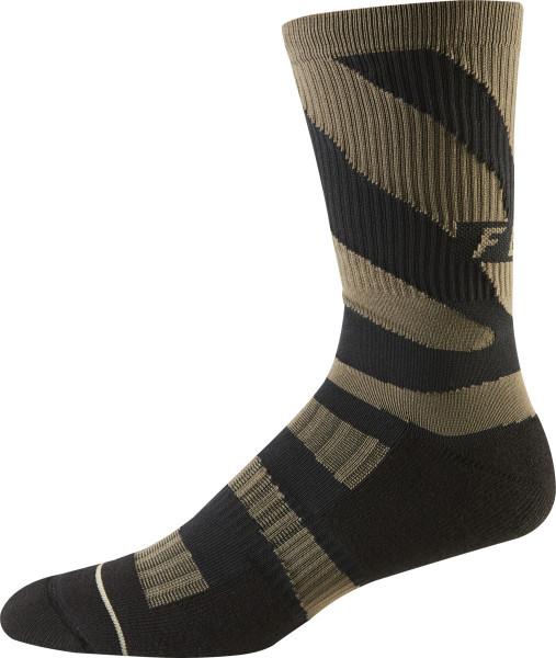 """8 """"Trail Cushion Socks - Dirt"""
