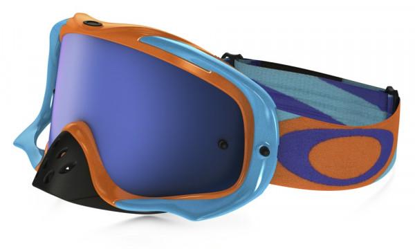 Crowbar MX Goggle - Heritage Racer Orange - Ice Iridium
