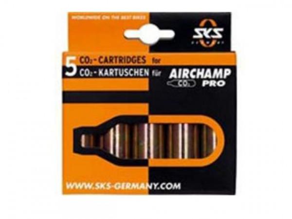 CO2 Ersatzkartuschen 5er-Pack 16g - Airchamp
