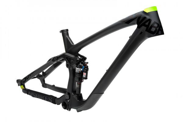 NS Bikes Snabb E Carbon frame with Monarch Plus RC3 Debonair