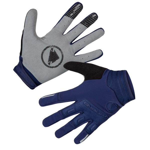 SingleTrack Windproof Gloves - Navy Blue