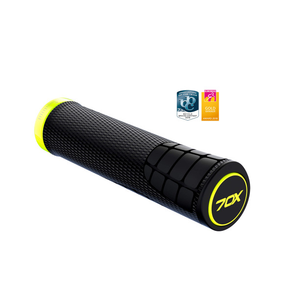 7OX Grips - Black/Yellow
