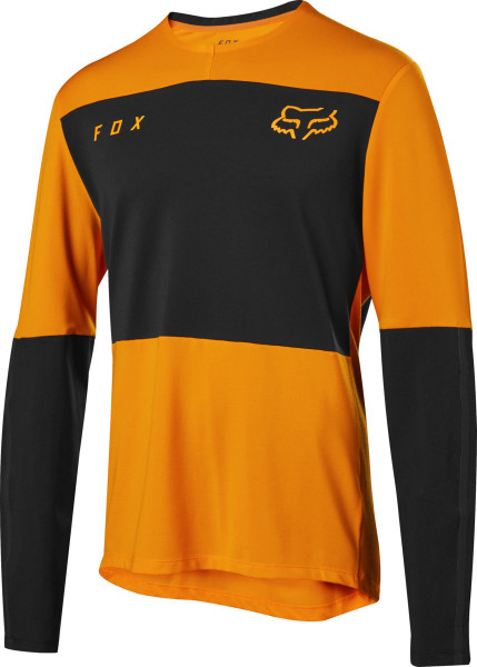 Defend Delta LS Jersey - Atomic Orange