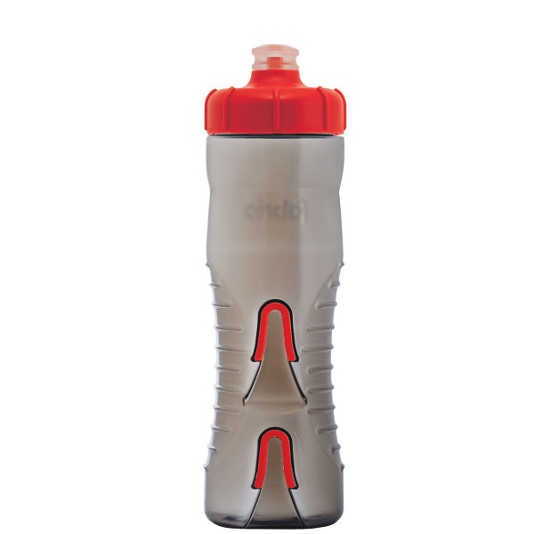 Cageless bottle - 750 ml - smoke/red