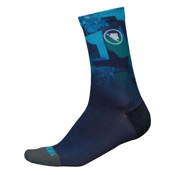SingleTrack Socks ll Limited - Navy Blue