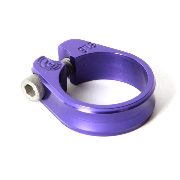 Slim Jim Sattelklemme - 31.8mm purple