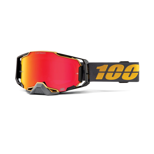 Armega Goggle Anti Fog - Gray / Gold - mirrored