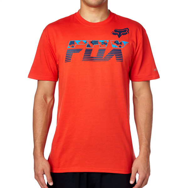Mako SS Tech Tee Flame Red