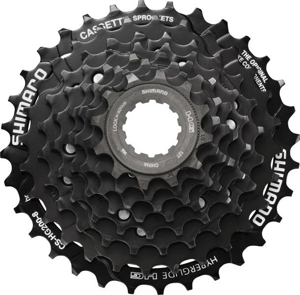Shimano cs hg200 kassette 8 fach 12 32 online kaufen bmo bike mailorder - Mycs gutschein ...