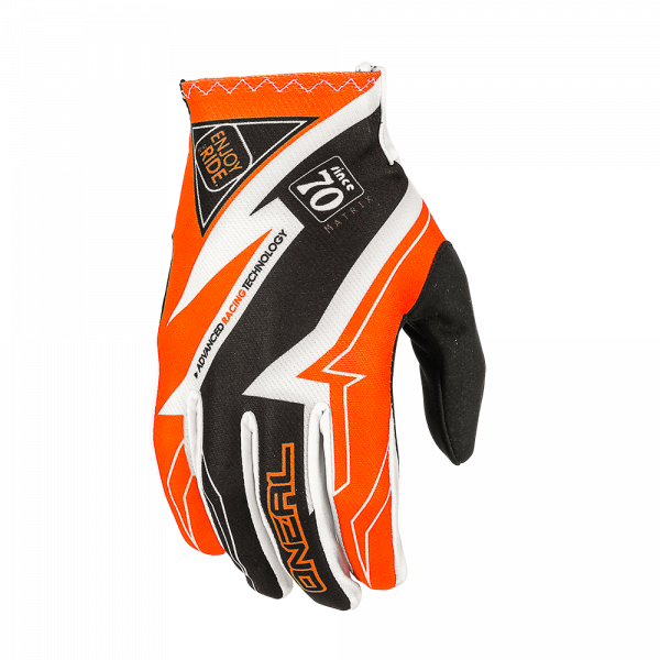 Matrix Glove Racewear Handschuh Black/Orange