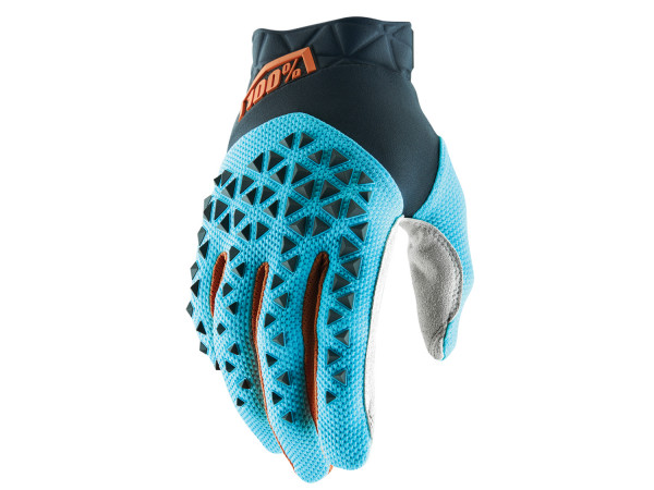 Airmatic Glove - Steel Grey/Ice Blue/Bronze
