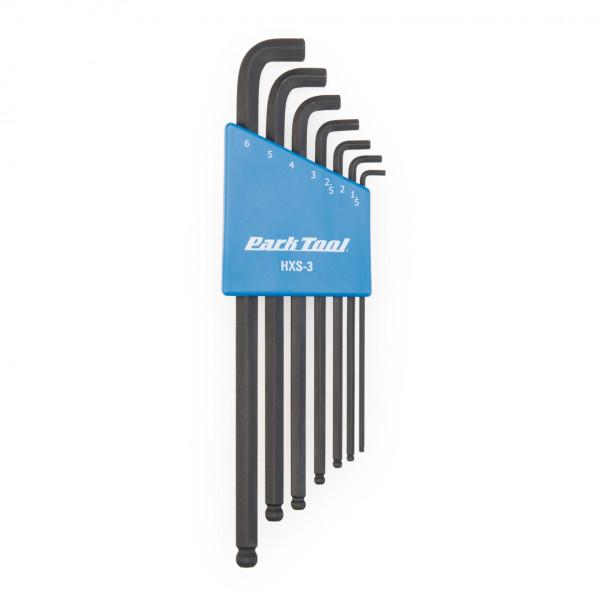 HXS-3 Winkelschlüssel-Set 1,5 - 6 mm mit Halter