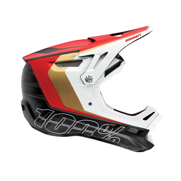 Aircraft DH Carbon Mips Helmet - Red Limited