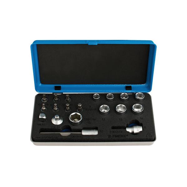 Bits- und Steckschlüssel-Set