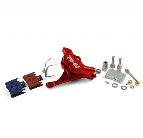 RX4 Caliper Flatmount Complete front - Sram - Red
