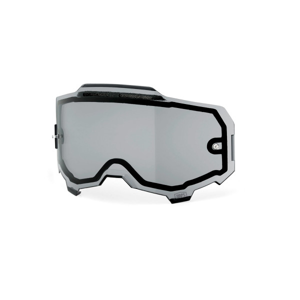 Armega Dual Panel Anti-Fog Replacement Lens - Gray