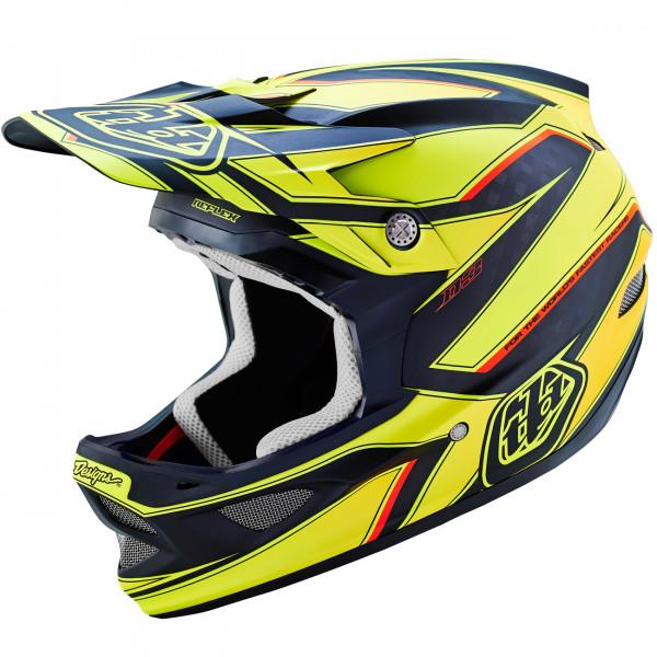8132fdec TLD - Troy Lee Designs D3 Fullface Helmet Reflex Carbon Yellow buy ...