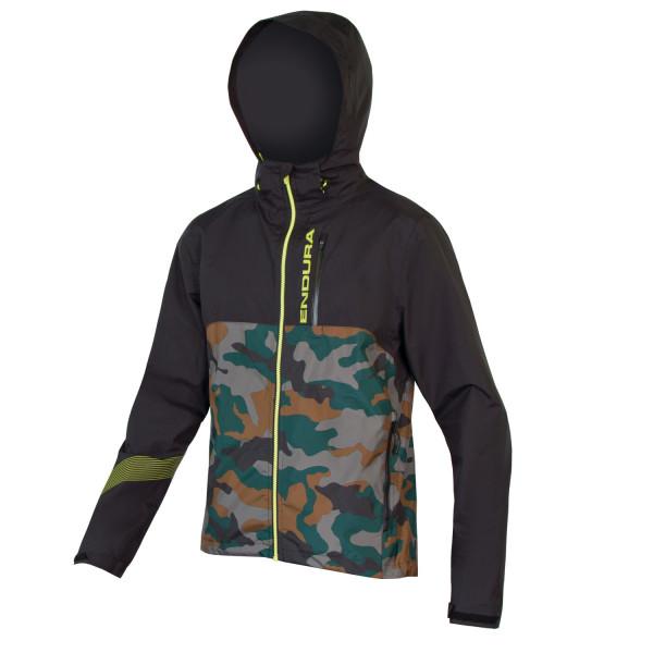 SingleTrack II Jacke - camouflage