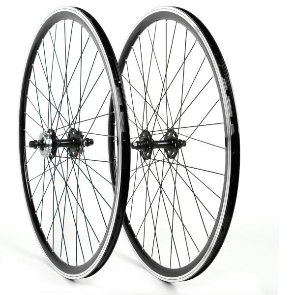 Single Speed Fixie Wheelset 28 Inch - black / black