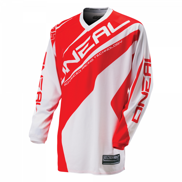 Element Jersey Racewear White/Red