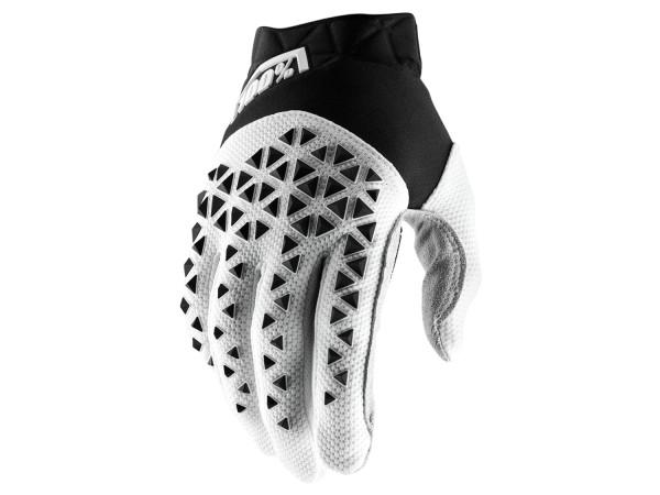 Airmatic Glove - White/Silver