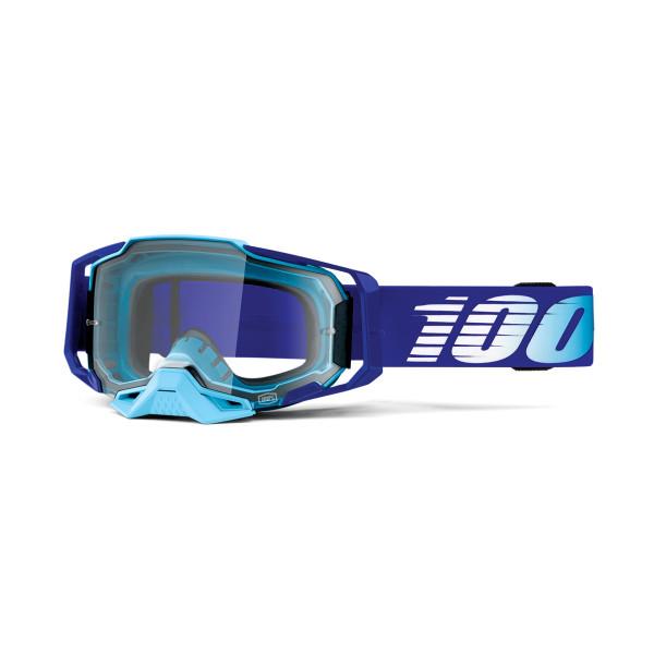 Armega Goggle Anti Fog Blue / Light Blue - Clear